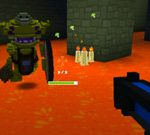 Multiplayer Minecraft Battle – The Testing Grounds