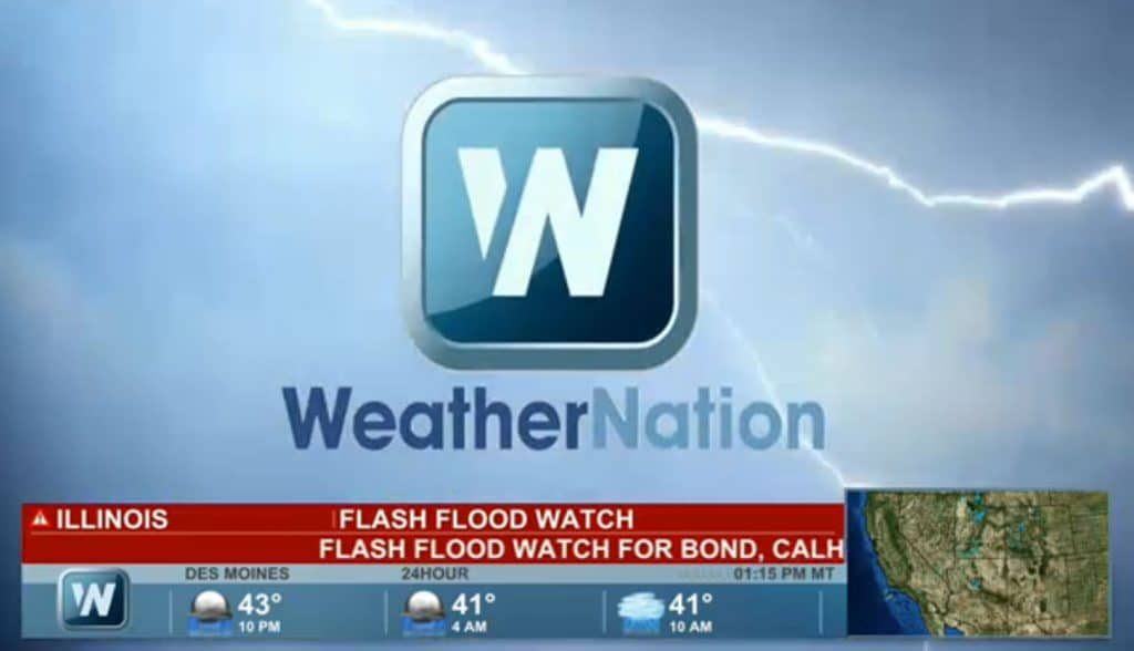 Tv And Internet Service >> Watch WeatherNation in live streaming - CoolStreaming