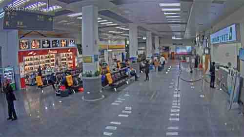 Nangan Airport Hall