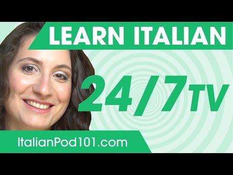 Profilo Learn Italian 24/7 TV Canal Tv