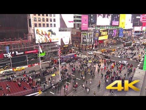 Times Square in 4K