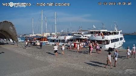 Trapani - Molo Mini Crociere