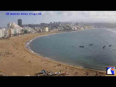 Canteras Beach Cam