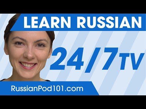 Profilo Learn Russian 24/7 TV Canale Tv