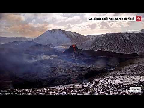 Geldingadalir Volcanic Cam