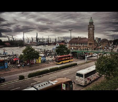 Hamburg - St. Pauli - Landungs