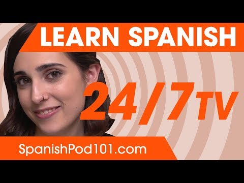 Профиль Learn Spanish 24/7 TV Канал Tv