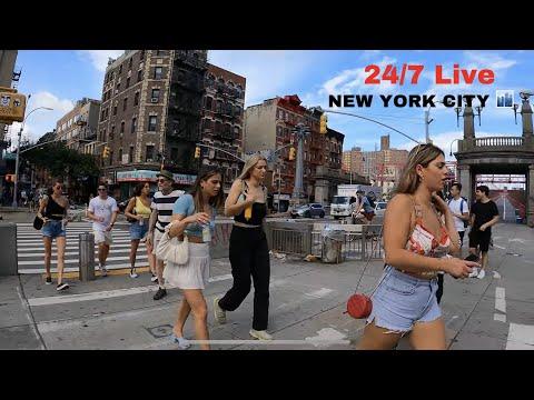 24/7 Live Walking New York