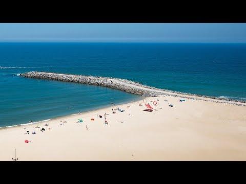 Praia da Baia em Espinho